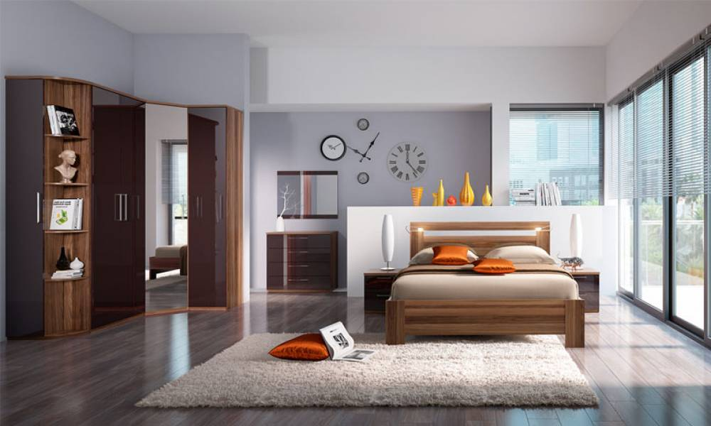 Спальный гарнитур Rimini Choco