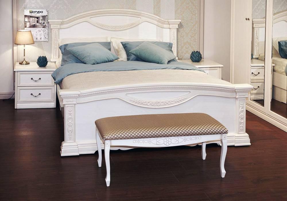 Спальный гарнитур Лючия светлая