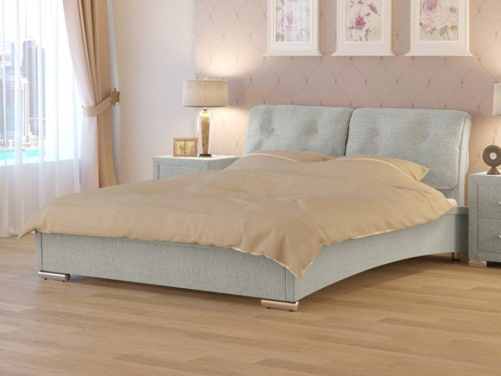 Кровать Nuvola 4 (2 подушки)