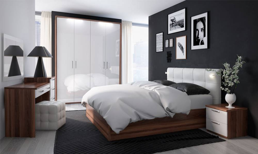 Спальный гарнитур Rimini Bosco