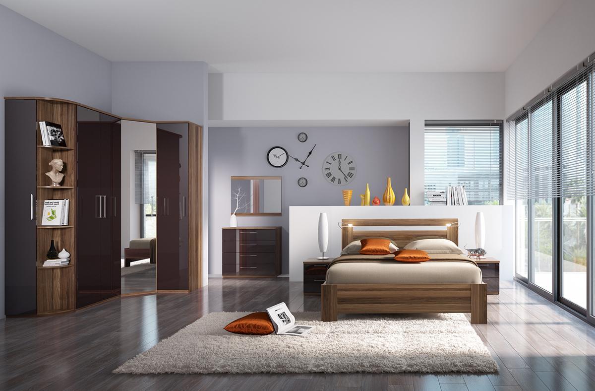 """Спальня """"Rimini Choco"""""""