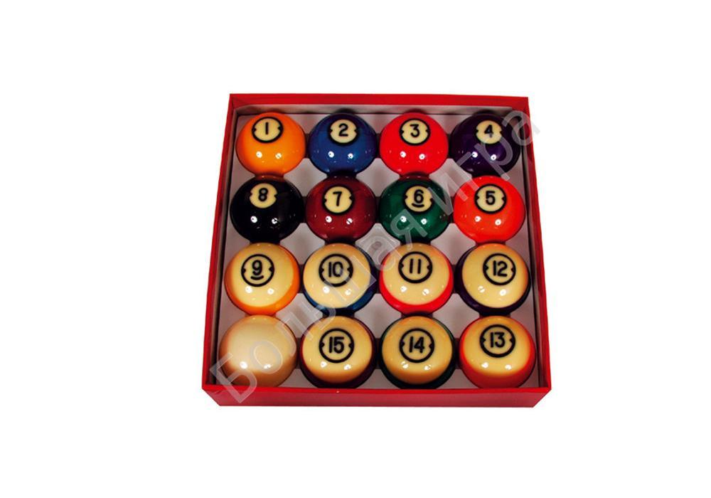 Шары бильярдные pool balls brunswick 57.2мм