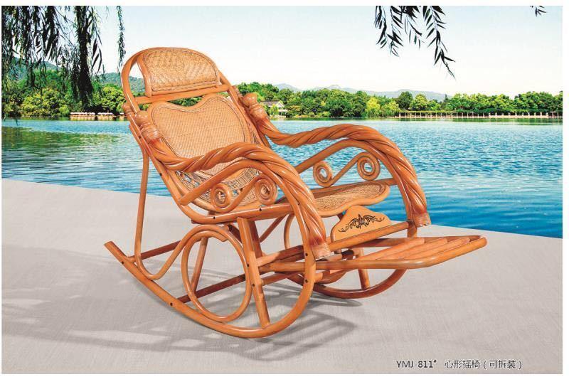Кресло-качалка, ротанг