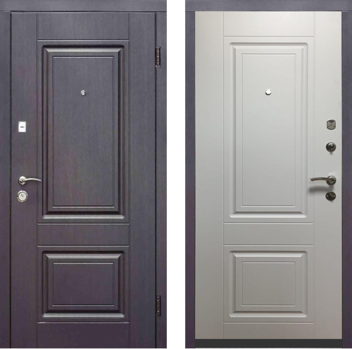 Дверь входная Премиум Вайт