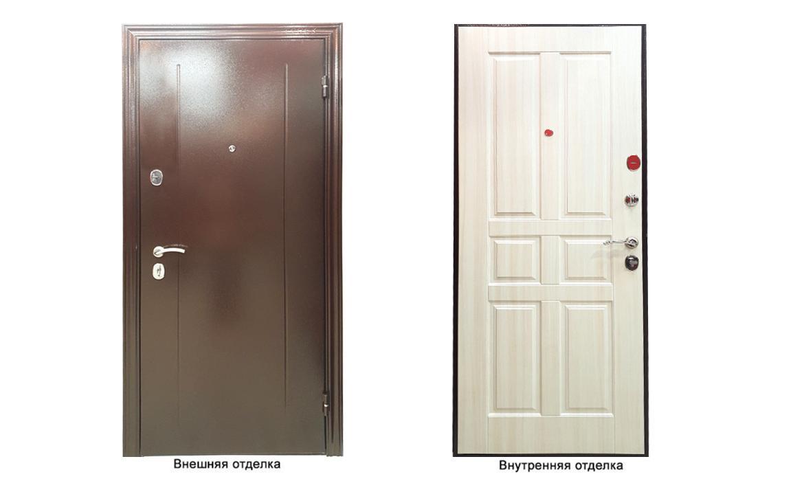 Дверь входная delta m 10