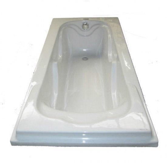 "Ванна акриловая ""y103А, 1700х770х395мм (Белая)"