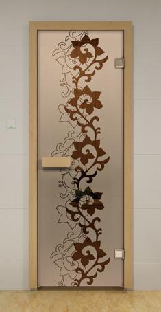 Дверь для сауны Чайный Декор