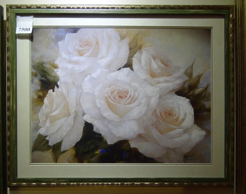 """Постер в багете """"Розы"""""""