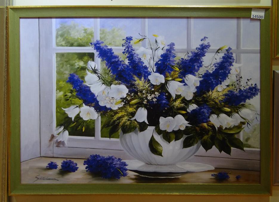 """Постер в багете """"Букет цветов"""""""