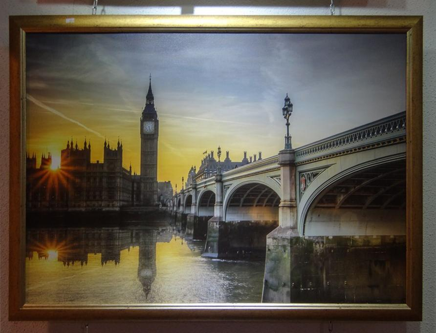 "Постер в багете ""Лондон"""