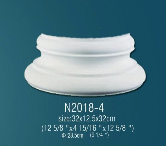 База из полиуретана N2018-4 (32 x 12.5 x 32см)
