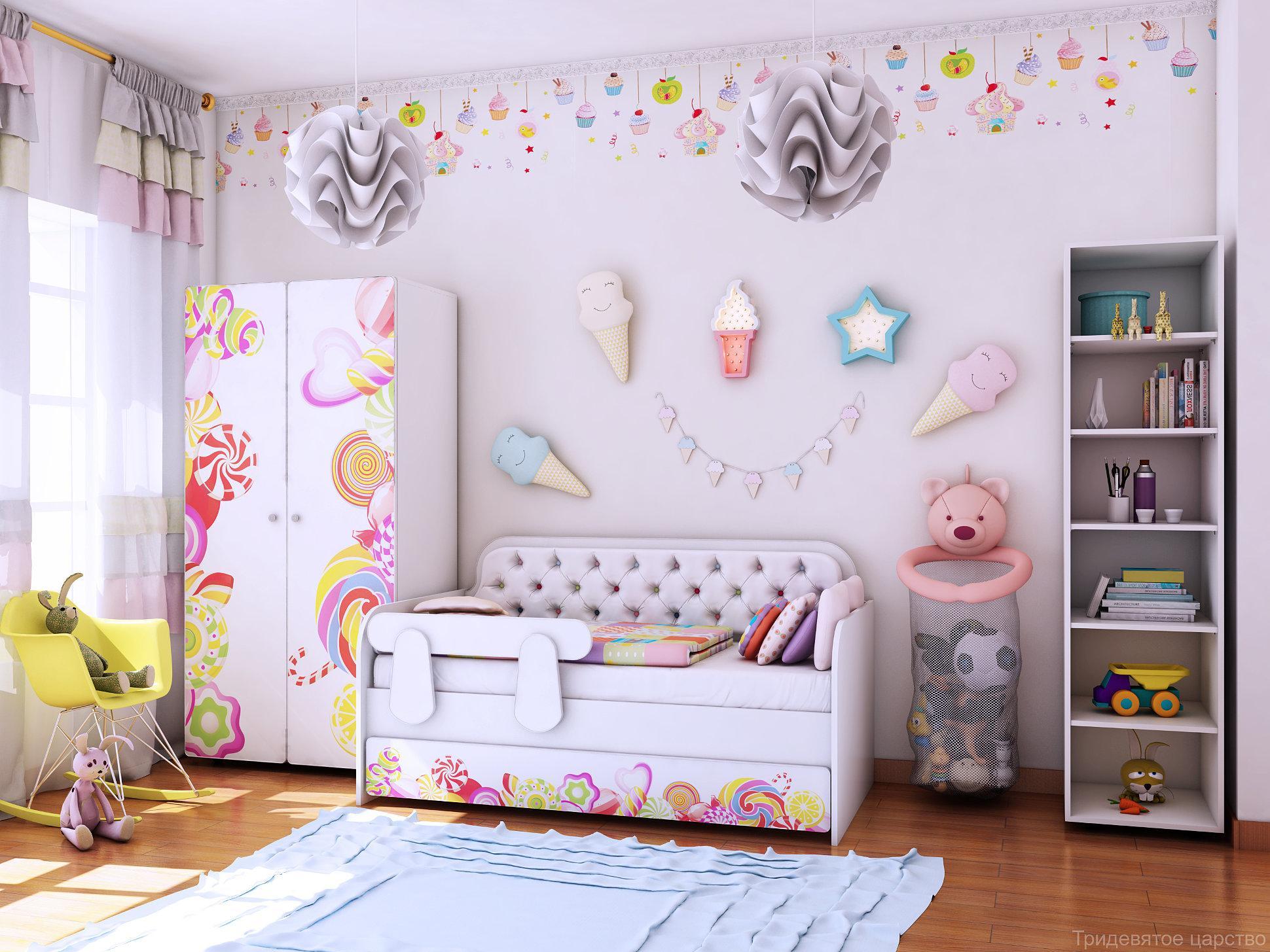 Детская комната Конфетки