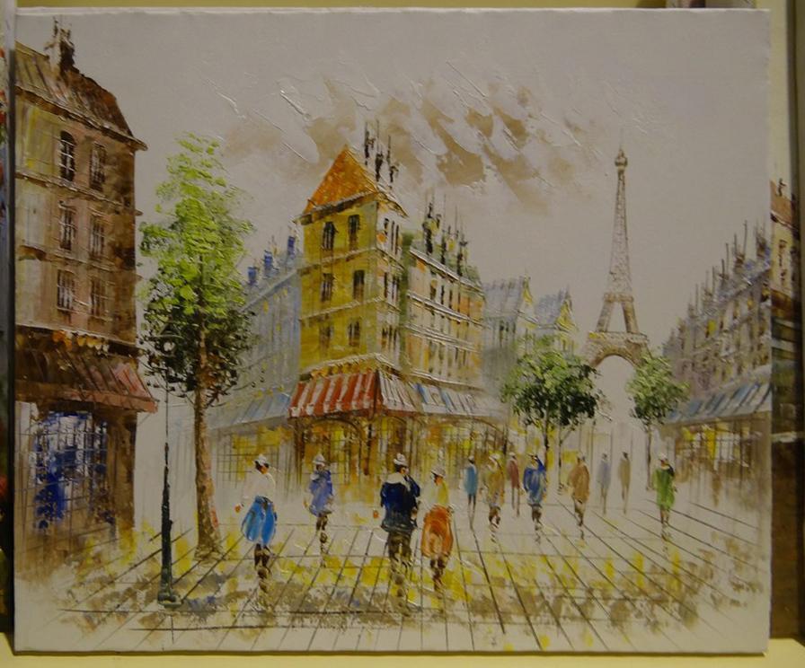 """Картина """"Париж"""""""