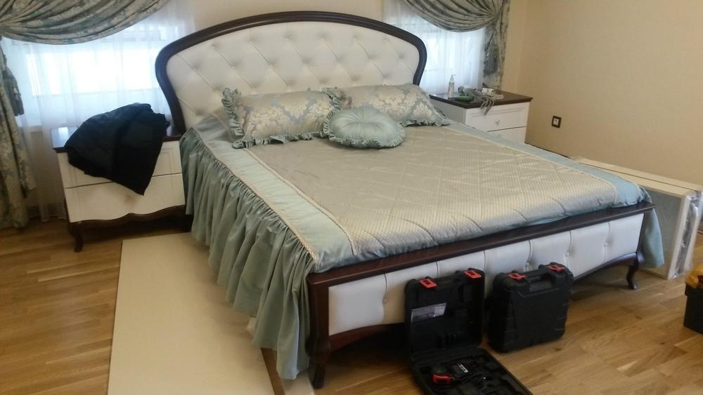 Шторы в спальни с покрывало