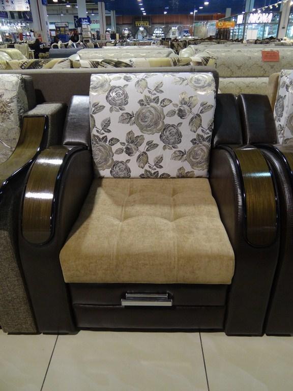 Комплект диван- 3.0 м + кресло Лидер-7