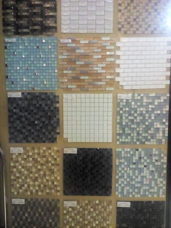Мозаика из стекла и камня