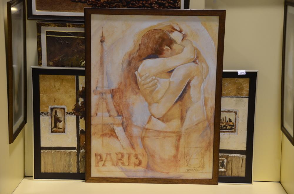 Встреча в Париже (постер в багете)