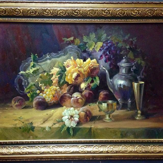 """Картина """"Натюрморт с чайными розами"""""""