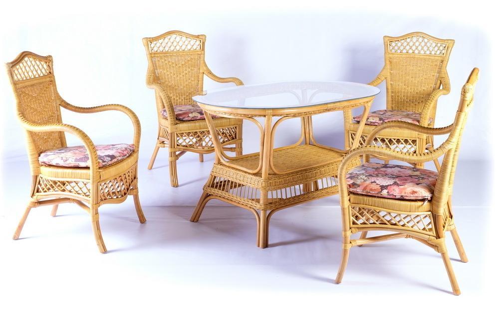 Комплект обеденный New Orleans + Jambie Oval Set