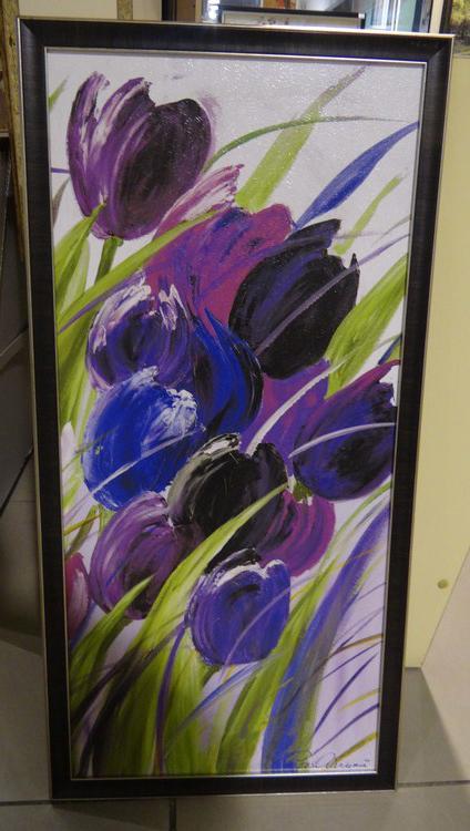 """Постер в багете """"Тюльпаны"""""""