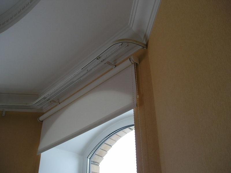 Карниз алюминиевый профильный для штор