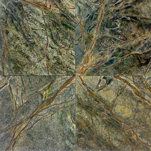 Мрамор «Темно зеленый лес»