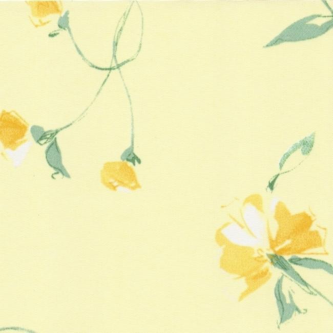 Рулонные шторы Версаль желтый