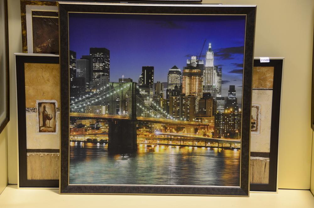 Бруклинский мост (постер в багете)