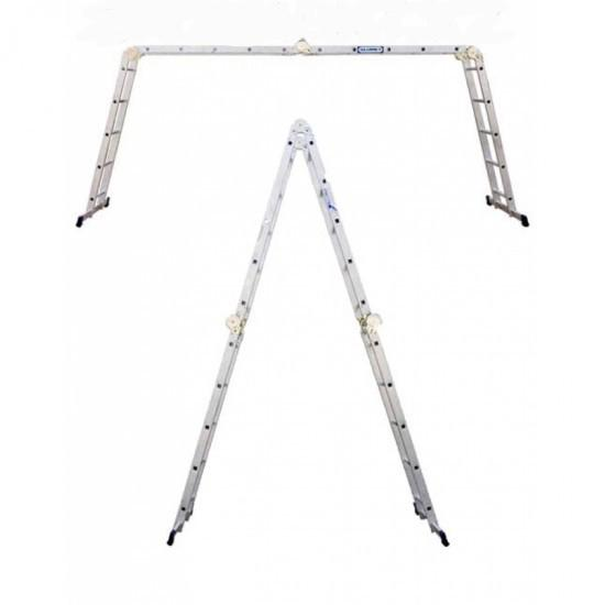 Алюминиевая лестница шарнирная