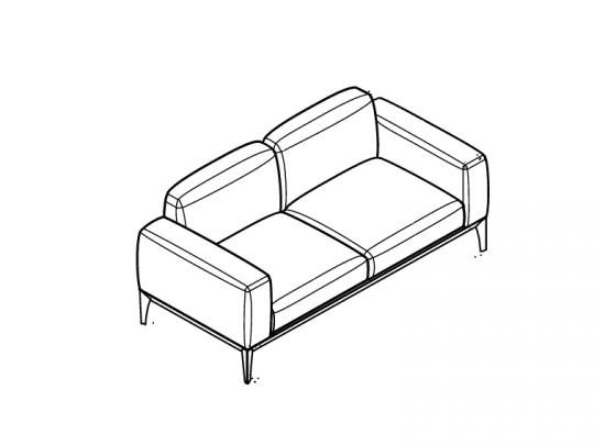 Комплект дивана и кресел