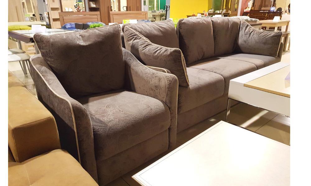 Диван + кресло 111(7767) А 32 Lux