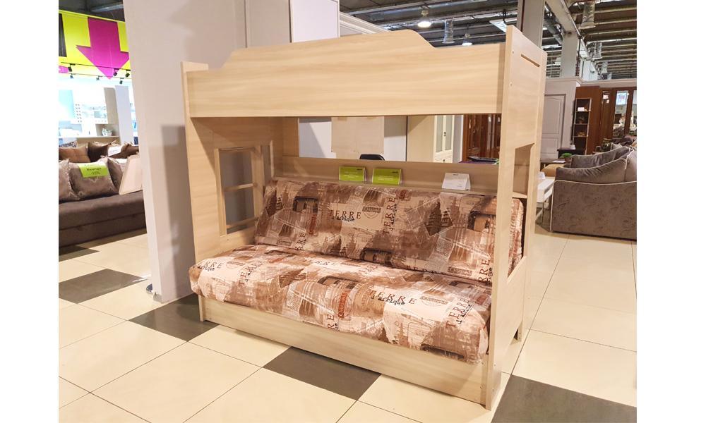 Кровать 2- ярусная Клик-клак