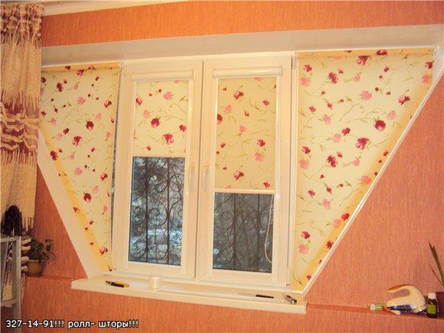 Ролл-шторы  любого размера на заказ за 1 день