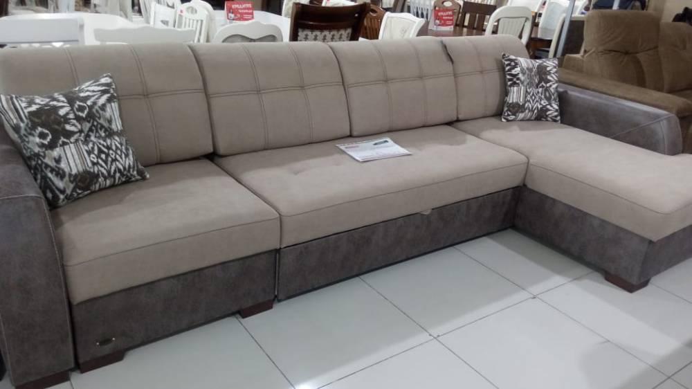 """Угловой диван-кровать """"Лацио М премиум"""" ГМФ 488"""