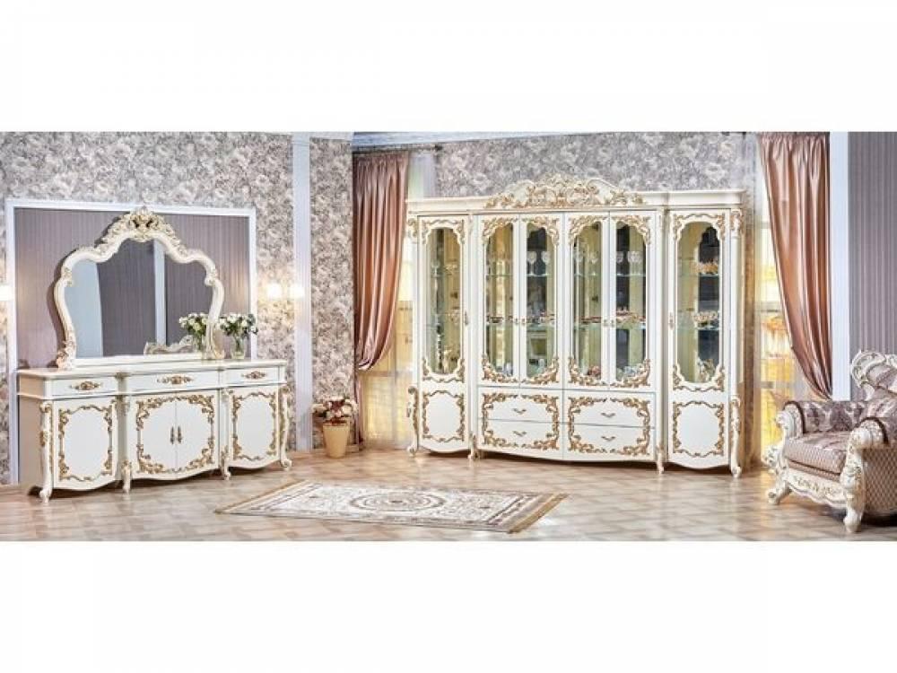 Венеция сервант и комод с зеркалом