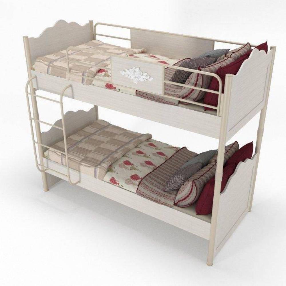 Кровать двухярусная  Мисс Флауер