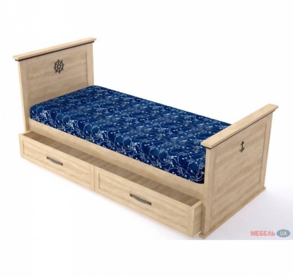 Кровать Шкипер 120 см (без ниши)