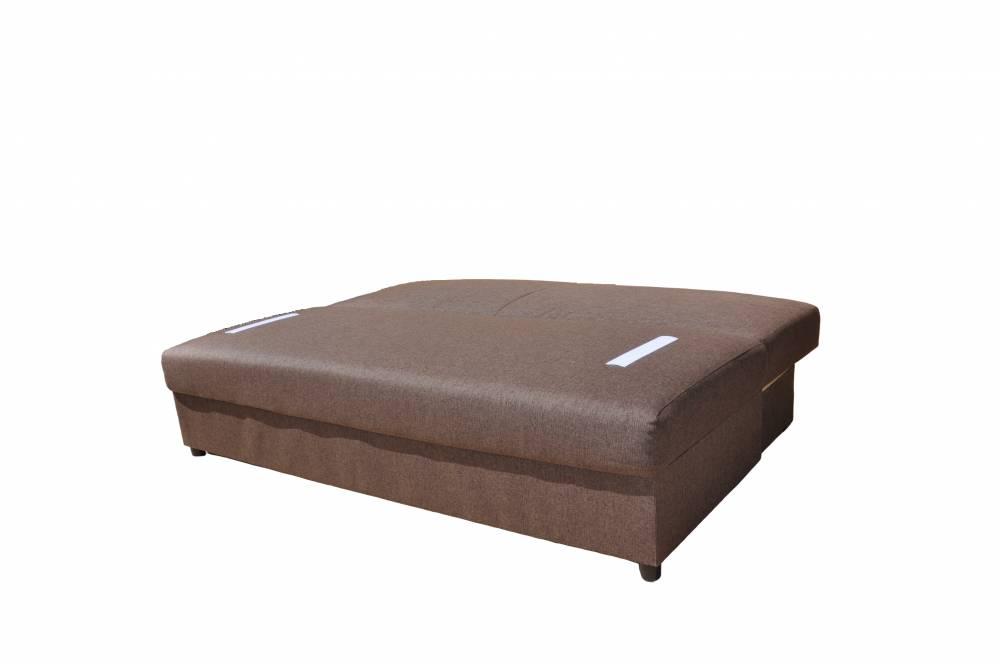 """Диван кровать """"Лира""""1400 мм (Amalea 6353, Модерн коричневый)"""