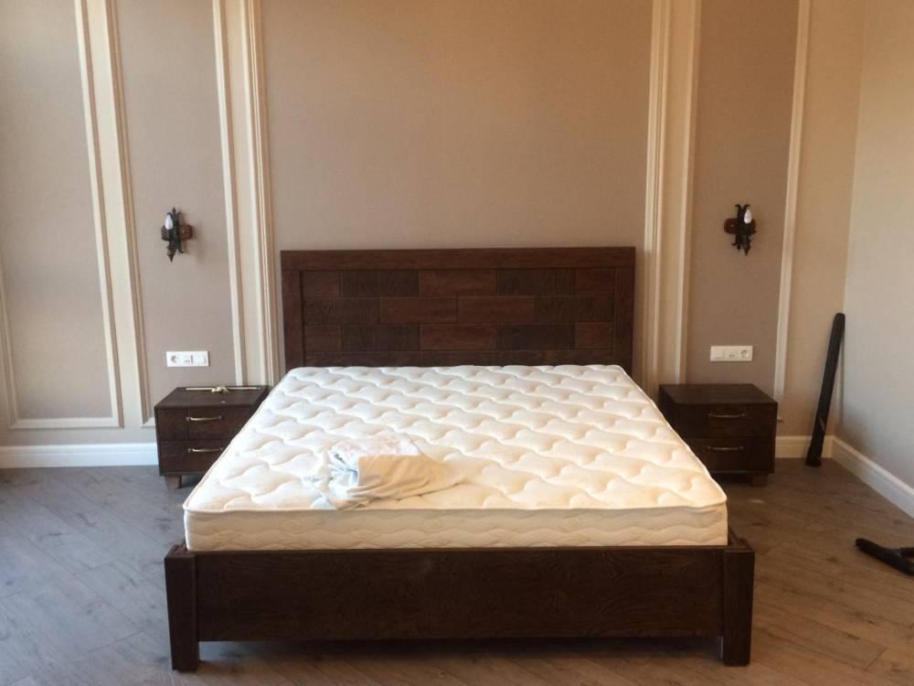 Спальня модерн дерево