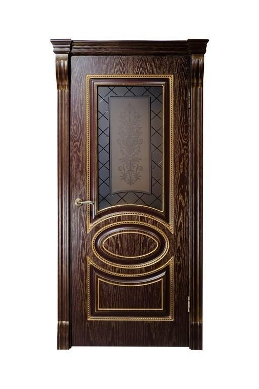 Дверь DL 200 ПО Шоколад