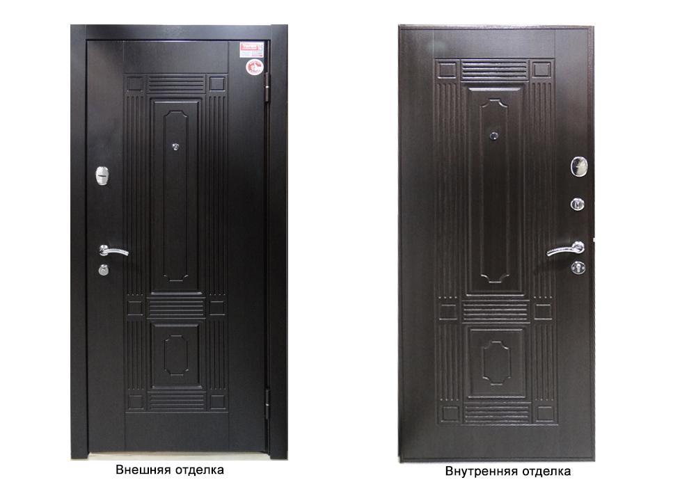 Дверь входная  Delta М 10