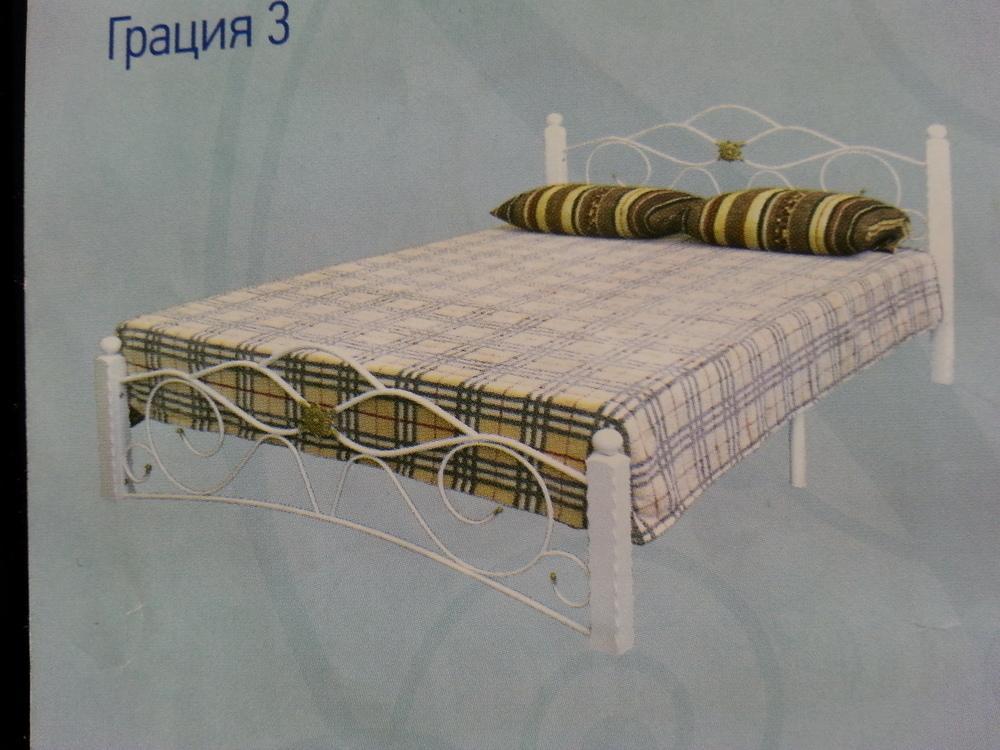 """Кровать кованая """"Гарда 3"""""""