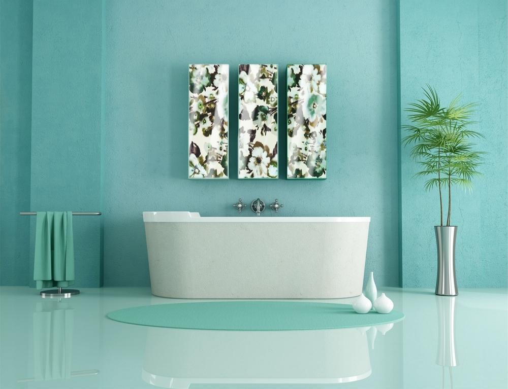 Встроенный гарнитур в ванную на заказ