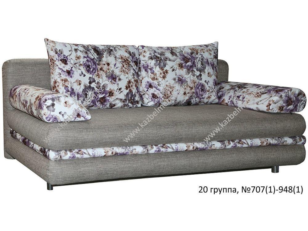 "Тахта ""Вилия-1"", трехместная, со съемными боковыми подушками"