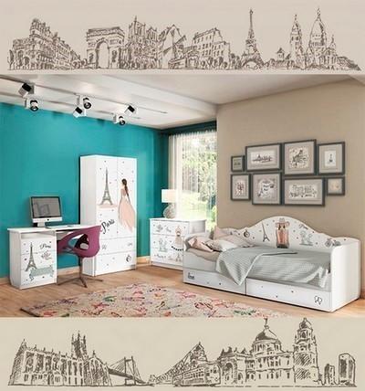 Детская мебель Париж