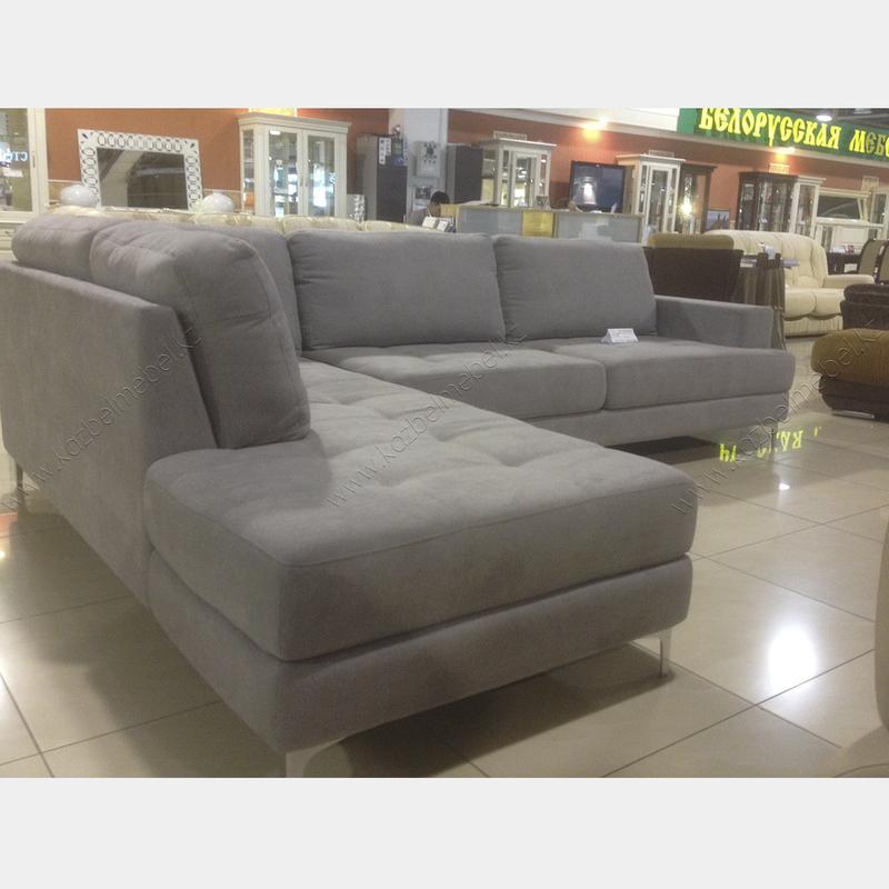 """Стильный диван """"JAVA"""", на высоких металлических ножках-кронштейнах"""