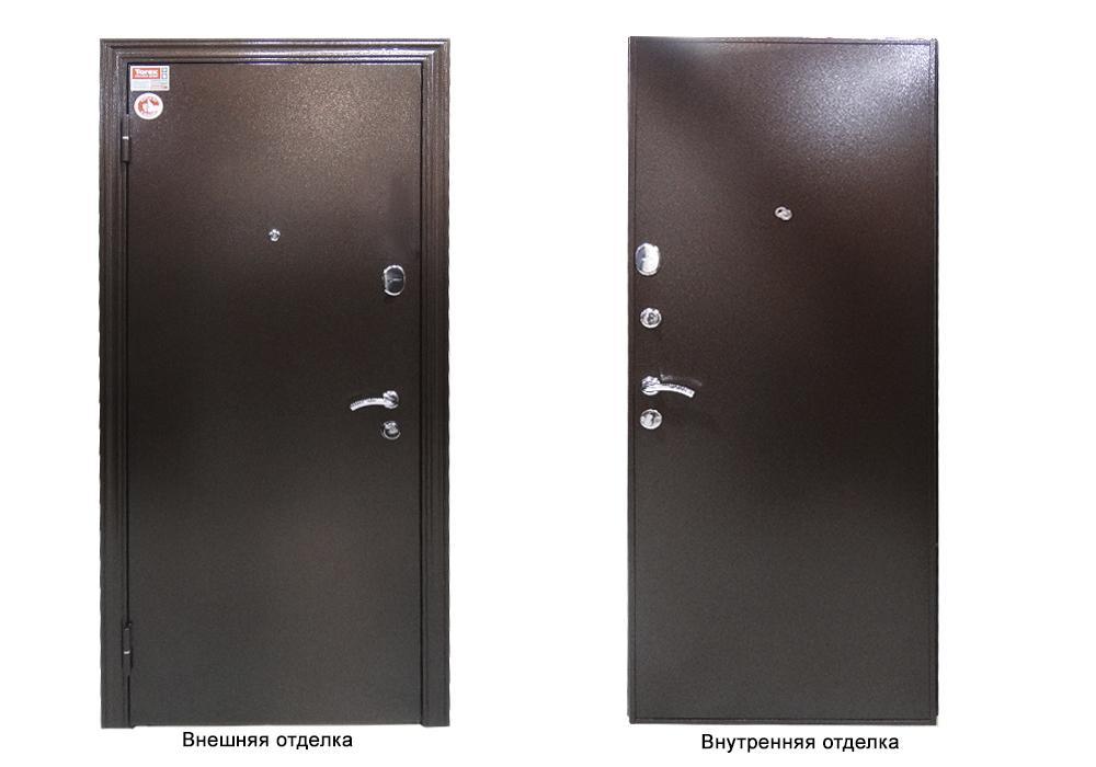 Дверь входная super delta steel