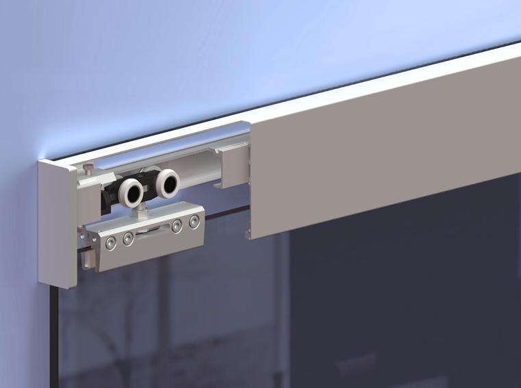 Система для дверей Herkules Glass