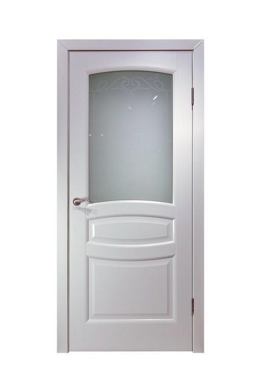 Дверь Этюд ПО Белая эмаль