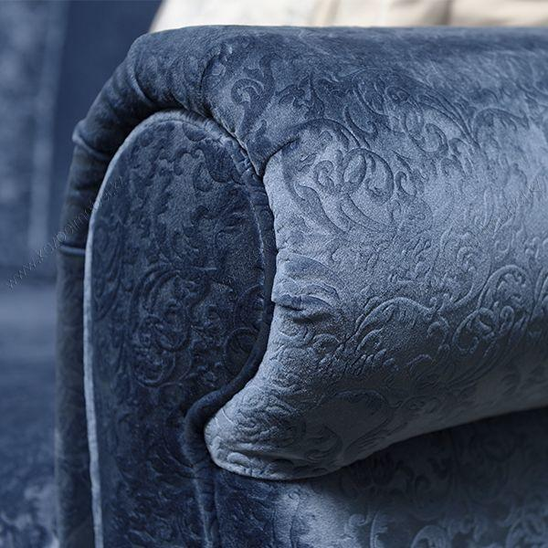 """Диван-кровать """"Фландрия"""", с открытыми деревянными ножками"""